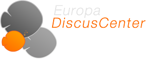 EuropaDiscusCenter Diskusfische logo footer